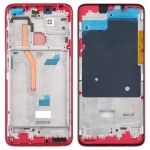 Front Housing LCD Frame Bezel Plate for Xiaomi Redmi K30 (Red)