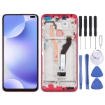 LCD Screen and Digitizer Full Assembly with Frame for Xiaomi Redmi K30 (Red)