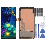LCD Screen and Digitizer Full Assembly for LG V50 ThinQ  LM-V500XM LM-V500N (Black)