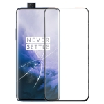 Original Front Screen Outer Glass Lens for OnePlus 7 Pro(Black)