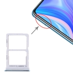 SIM Card Tray + NM Card Tray for Huawei Enjoy 10s / Honor Play 4T Pro (Blue)