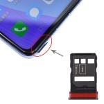 SIM Card Tray + SIM Card Tray for Huawei Nova 6 / Honor V30 Pro / Honor V30 (Black)