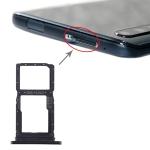 SIM Card Tray + SIM Card Tray / Micro SD Card Tray for Huawei Honor 9X / Honor 9X Pro (Black)