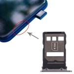 SIM Card Tray + NM Card Tray for Huawei Mate 30 (Black)