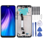 LCD Screen and Digitizer Full Assembly with Frame for Xiaomi Redmi Note 8(Black)