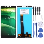 LCD Screen and Digitizer Full Assembly for Nokia C1 (Black)