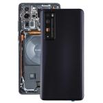 Original Battery Back Cover with Camera Lens Cover for Huawei Nova 7 Pro 5G(Black)