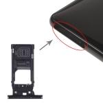 SIM Card Tray + SIM Card Tray + Micro SD Card Tray for Sony Xperia XZ2 (Black)