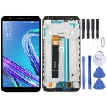 LCD Screen and Digitizer Full Assembly with Frame for Asus ZenFone Max M1 ZB555KL X00PD (Black)