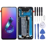 LCD Screen and Digitizer Full Assembly with Frame for Asus Zenfone 6 ZS630KL I01WD (Black)