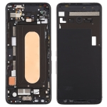Middle Frame Bezel Plate with Side Keys for Asus ROG Phone II ZS660KL (Black)