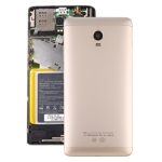 Battery Back Cover with Side Keys for Lenovo Vibe P1 P1c72 P1a42 P1c58(Gold)