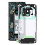 Transparent Back Cover with Camera Lens Cover for Samsung Galaxy S9 G960F G960F/DS G960U G960W G9600(Transparent)