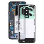 Transparent Back Cover with Camera Lens Cover for Samsung Galaxy S9+ / G965F G965F/DS G965U G965W G9650(Transparent)