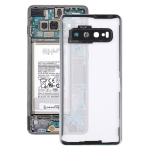 Transparent Back Cover with Camera Lens Cover for Samsung Galaxy S10 G973F/DS G973U G973 SM-G973(Transparent)