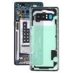 Transparent Back Cover with Camera Lens Cover for Samsung Galaxy Note 8 / N950F N950FD N950U N950W N9500 N950N(Transparent)