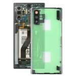 Transparent Back Cover with Camera Lens Cover for Samsung Galaxy Note 10+ N975 N9750(Transparent)