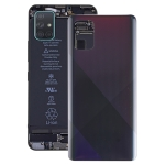 Original Battery Back Cover for Galaxy A71(Black)