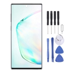 Original Dynamic AMOLED Material LCD Screen and Digitizer Full Assembly for Galaxy Note 10 + (Black)
