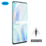 For OnePlus 8 2 PCS ENKAY Hat-Prince 0.1mm 3D Full Screen Protector Explosion-proof Hydrogel Film