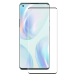 For OnePlus 8 ENKAY Hat-Prince 0.26mm 9H 3D Explosion-proof Full Screen Curved Heat Bending Tempered Glass Film