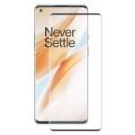 For OnePlus 8 Pro ENKAY Hat-Prince 0.26mm 9H 3D Explosion-proof Full Screen Curved Heat Bending Tempered Glass Film