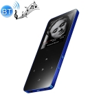 1.8 inch Touch Screen Metal Bluetooth MP3 MP4 Hifi Sound Music Player (Blue)
