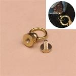 10 PCS Pure Copper Belt Ring Handle Luggage Accessories(Copper)