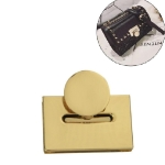 4 PCS Luggage Hardware Accessories Zinc Alloy Square Female Bag Lock