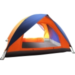 Double Double-decker Outdoor Leisure Travel Double-door Camping Tent