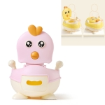 Baby Cute Cartoon Non-slip Toilet(Pink)