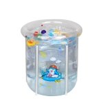 DD02511 Home Swimming Pool Bracket Pool Children Small Inflatable Pool, Szie:70 x 70cm