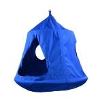 Children Indoor Outdoor Leisure Hanging Chair Hanging Tent, Color:Blue