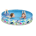 Children Outdoor PVC Inflatable Swimming Pool, Specification:150cm
