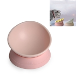 Pet Supplies Any Angle Anti-skid Wear-resistant Oblique Cat and Dog Bowl(Pink)
