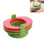 3 in 1 Multifunctional Egg Cutter Half-cut Egg Tool(Colorful)