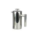 304 Stainless Steel French Pressure Coffee Pot Hand Made Tea Pot, Capacity:350ml