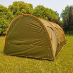 Laputa Outdoor Portable Camper Tail Tent Family Self-driving Barbecue Rainproof Shade Multi-person Tent, Style:Have  Door