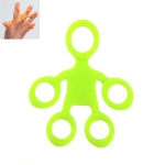 Humanoid Silicone Finger Puller Finger Force Wrist Exercise Pull Ring(Green)