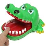 Cartoon Creative Crocodile Shape Bite Hand Novelty Tricky Toys