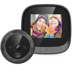 DD3 2.4 inch TFT Screen 0.3MP Security Digital Door Viewer, Support Infrared Night Vision & 90 Degrees Wide Angle (Black)