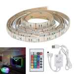 YWXLight TV Music Background Light Decoration Lamp With LED Rhythm Flexible Lamp With 2 Meters USB Music Lamp