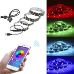 YWXLight 1 to 4 TV Background Bluetooth APP Mobile Phone Controller USB LED Light Strip