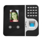 F491 2.8 inch Color TFT Screen Face Fingerprint Swipe Extranet Remote Time Attendance Machine