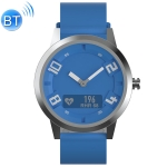 Lenovo Watch X OLED Display Screen 316L Stainless Steel Waterproof Bluetooth 5.0 Sport Smart Watch with Silicone Strap, Support Heart Rate Sensor / Sleep Monitor / Gesture Photo (Blue)