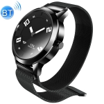Lenovo Watch X 316L Stainless Steel Waterproof Bluetooth 5.0 Smart Watch with Milanese Strap, Support Heart Rate Sensor / Sleep Monitor / Gesture Photo (Black)