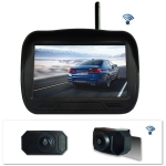 WX4310D 480×234 4.3 inch Digital Wireless Set Car Rear View Camera for Security Backup Parking, IP67 Waterproof, Wide Viewing Angle: 170 Degree