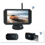 WX5310D 5 inch HD 720P Digital Wireless Set Car Rear View Camera for Security Backup Parking, IP67 Waterproof, Wide Viewing Angle: 170 Degree