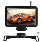 WX7311D 7 inch HD 720P Digital Wireless Set Car Rear View Camera for Security Backup Parking, IP67 Waterproof, Wide Viewing Angle: 170 Degree