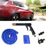 Car / Household Portable High Pressure Wash Water Gun Garden Irrigation Set(Black)